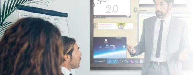 ecran interactif pour entreprises