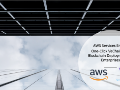 Partenariat Cloud – Blockchain VeChain et Amazon AWS